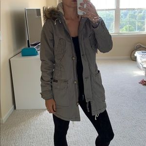 Abercrombie utility jacket LIkE NEW